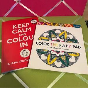 2 Colouring Books 📚